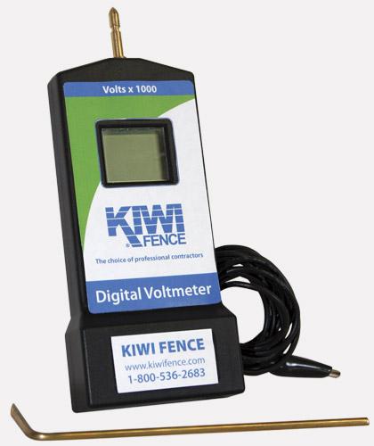 Digital Voltmeter Fence : Kiwi fence products